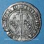 Münzen Duché de Lorraine. Jean I (1346-1390). 1/4 de gros.  Nancy