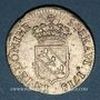 Münzen Duché de Lorraine. Léopold (1697-1729). Demi-teston 1718. Nancy
