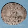 Münzen Duché de Lorraine. Léopold I (1697-1729). Liard 1715. Nancy