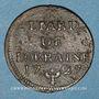 Münzen Duché de Lorraine. Léopold I (1697-1729). Liard 1727. Nancy