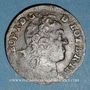 Münzen Duché de Lorraine. Léopold I (1697-1729). Liard 1728. Nancy