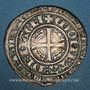 Münzen Duché de Lorraine. Marie de Blois-Châtillon, régente de Jean I (1346-1352). Plaque. Nancy