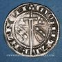 Münzen Duché de Lorraine. Raoul (1329-1346). 1/4 gros. Nancy. R ! R ! Variante inédite !