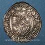 Münzen Duché de Lorraine. René II d'Anjou (1473-1508). Gros. Nancy. Variante inédite !