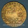 Münzen Lorraine. Anne, demoiselle d'Aumale, duchesse de Nemours. Jeton cuivre 1635