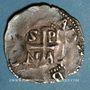 Münzen Lorraine. Evêché de Metz. Adalbéron III de Luxembourg (1047-1072). Denier. Epinal
