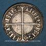 Münzen Lorraine. Evêché de Metz. Thierry V de Boppard (1365-1384). Tiercelet (= 1/3 de gros). Metz. R !