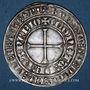 Münzen Lorraine. Jean (1346-1390). Gros à l'écu sommé d'une épée et de deux heaumes, frappé à Nancy