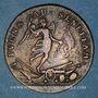 Münzen Belgique. Louis XIV (1643-1715). Victoire de Saneffe sur Triple Alliance. Jeton laiton n. d.