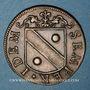 Münzen Besançon. Co-gouverneurs. Bon Anathoile Monnier, seigneur de Noironte. Jeton cuivre 1667