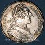 Münzen Bordeaux. Série Municipale. Louis XV. Jeton argent