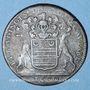 Münzen Bourgogne. Mairie de Dijon. B.P. Baudinot. Jeton cuivre 1680