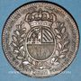 Münzen Bourgogne. Mairie de Dijon. Claude Marlot. Jeton cuivre 1751