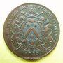 Münzen Bourgogne. Mairie de Dijon. E. Baudinet. Jeton cuivre 1719