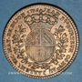 Münzen Bourgogne. Mairie de Dijon. J. Burteur. Jeton cuivre 1736