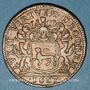 Münzen Bourgogne. Mairie de Dijon. Jean Joly. Jeton cuivre 1667