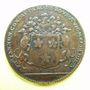Münzen Bourgogne. Mairie de Dijon. Ph. Jannon. Jeton cuivre 1693