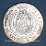 Münzen Bretagne. Mairie de Nantes. Gelée de Premion. Jeton argent 1780-1781