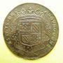 Münzen Etats de Bourgogne. Jeton cuivre 1688