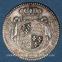 Münzen Etats de Bretagne. Louis XV. Jeton argent 1768