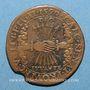 Münzen Flandre. Philippe II (1555-1598). Jeton cuivre 1590