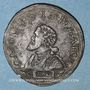 Münzen Franche-Comté. Besançon. Chambre des comptes. Charles Quint. Jeton cuivre 1547