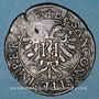 Münzen Franche-Comté. Besançon. Chambre des comptes. Charles Quint. Jeton cuivre 1587