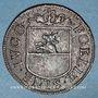 Münzen Franche-Comté - Besançon. Co-gouverneurs. Charles Bouvot. Jeton cuivre 1667