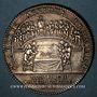 Münzen Hainaut. Ville de Valenciennes. Jeton argent 1726