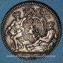 Münzen Lyon. Ex-consuls. Jeton argent 1756