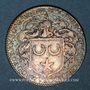 Münzen Maine. Perrochel C., seigneur de Grandchamp et M. Varelet de Gibecour. Jeton argent n. d.