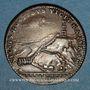 Münzen Marly-le-Roi. Louis XIV (1643-1715). Jeton cuivre 1684