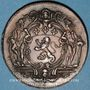 Münzen Municipalité de Lyon. C. Perrichon. Jeton cuivre 1735