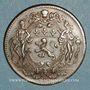 Münzen Municipalité de Lyon. Deschamps, Ravachol, Dumarest, Rigod. Jeton cuivre 1747
