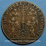 Münzen Noblesse de Touraine. Antoine de Ruzé, marquis d'Effiat de Longjumeau. Jeton laiton 1630