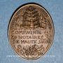Münzen Notaires. Compagnie des Notaires de Haute Saône. Jeton bronze 1976