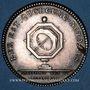 Münzen Notaires. Paris. Louis XVI. Jeton argent. Gravé par Droz