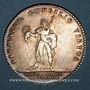 Münzen Ordre de St-Louis. Louis XV. Jeton argent