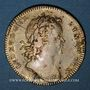 Münzen Orléanais. Louis XV, Philippe d'Orléans, régent (1715-1773). Jeton laiton