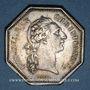 Münzen Paris. Assemblée du Clergé de France. Louis XV. Jeton argent 1775