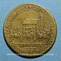 Münzen Paris. Série Municipale. Louis XIV (14643-1715). Entrée du légat. Jeton laiton