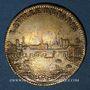 Münzen Paris. Série Municipale. Louis XIV (14643-1715). Jeton laiton