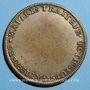 Münzen Paris. Traiteurs, pâtissiers, rôtisseurs. Louis XVI (1774-1793). Jeton laiton argenté n. d.