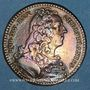 Münzen Paris. Trésor royal. Louis XV. Jeton cuivre 1740
