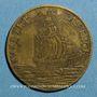 Münzen Poitou. Cardinal de Richelieu. Jeton cuivre jaune n. d.
