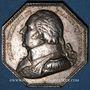 Münzen Salines de l'Est. Louis XVIII. Jeton en argent. Sans poinçon