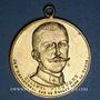 Münzen Affaire Dreyfus. Emile Zola et le colonel Picquart. Médaille en bronze doré. 31,08 mm