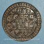 Münzen Algérie. Jeton au type d'un (double) boudjou de Mahmud II (1837. Bronze. 33 mm