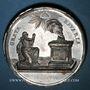 Münzen Allemagne. Bavière. Charles Théodore (1777-99). Naissance du prince héritier. 1786. Médaille zinc