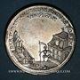 Münzen Allemagne. Saxe. Famine de 1772. Médaille étain. Gravée par Christian Reich